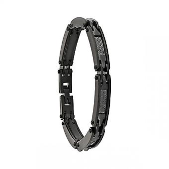 Bracelet Homme Jourdan JH110007B - TULUM - Acier noir