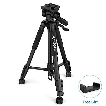 Travel Camera Tripod For Photography Video Shooting Dslr Slr Camcorder With