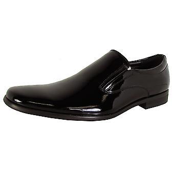 Steve Madden Mens Hikick Slip På Formella Loafer Skor