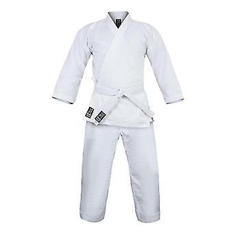 Morgan Yamasaki Pro V2 Alb Karate Uniformă