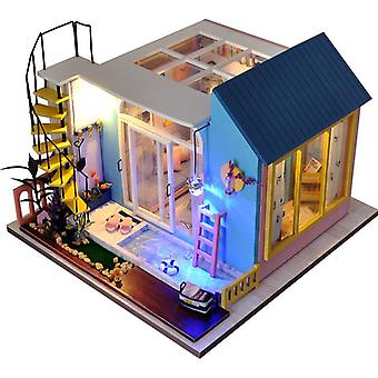 Diy house hand-assembled making house model birthday christmas gift toys