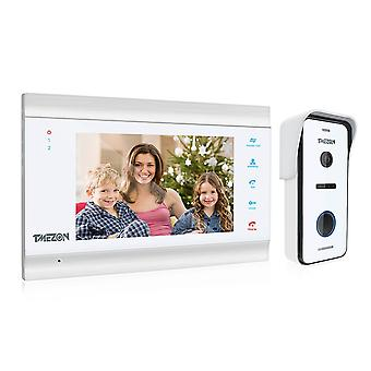 Desbloqueo del monitor de soporte de cámara de timbre con cable