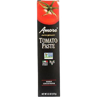 Amore Paste Tube Tomato, Case of 12 X 4.5 Oz
