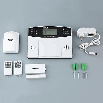 Gsm-lcd Wireless 433 Intelligent Voice Burglar Smart Home Alarm Apparatus