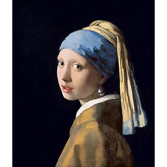 The Girl With A Pearl Earring,johannes Vermeer Art Reproduction.baroque Style Modern Hd Art Print Poster,canvas Prints Wall Art For Home Decor Picture