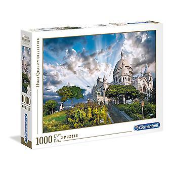 Clementoni Montmartre högkvalitativt pussel (1000 stycken)