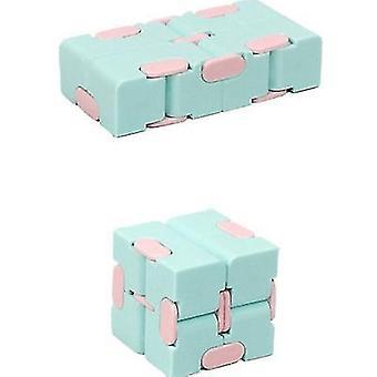 Kostka Rubika Dekompresja Toy Pocket Drugie zamówienie Rubik's Cube Edukacyjna Toy (Niebieski)