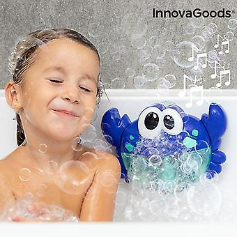 Musikaalirapu saippuakuplien kanssa kylpy ravustavalle innovagoodille