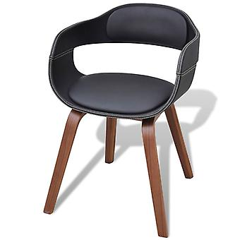 vidaXL dining chair with bentwood and imitation leather