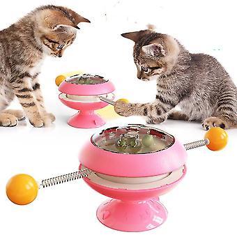 Pyörivät kissalelut varusteet kissanminttu interaktiivisilla koulutusleluilla kissoille kissanpentutarvikkeet lemmikkituotteet