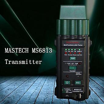 Mastech Ms6813 Network Cable Telephone Line Tester Detector Transmitter Rj45