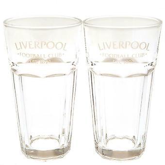 Liverpool FC Debossed Tumbler Set (Pack of 2)