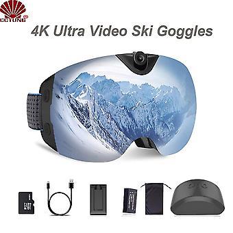 4k Ultra Video Ski-sunglass Lasit Kamera