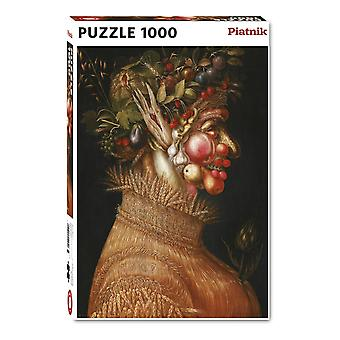Piatnik Summer, Arcimboldo Jigsaw Puzzle (1000 Pieces)