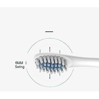 Kotitalouksien pehmeä lataus automaattinen sähköhammasharja aikuiselle (vaaleanpunainen)