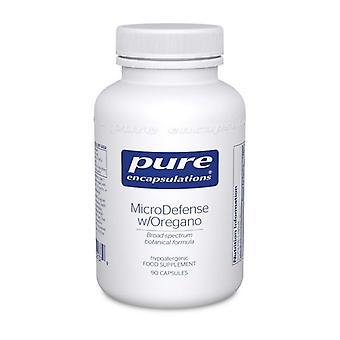 Pure Encapsulations MicroDefense with Oregano Capsules 90 (MI39UK)