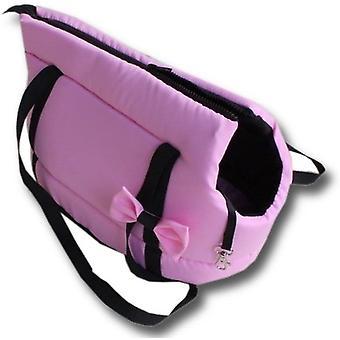 Hundetragetasche - kleine Hunde - Hundetransporttasche - pink - stylisch - Umhängetasche