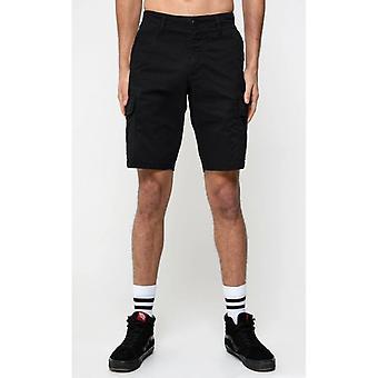 Dml jeans rookie cargo shorts - black