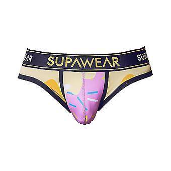 Supawear Sprint Letter Strawberry Mint | Men's Underwear | Men's Slip