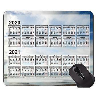Mouse pads 260x210x3 2020 galaxy calendar custom original mouse pad colorful and colorful mouse pad with