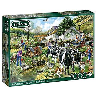 Another Day on the Farm 1000pc Jigsaw by Falcon