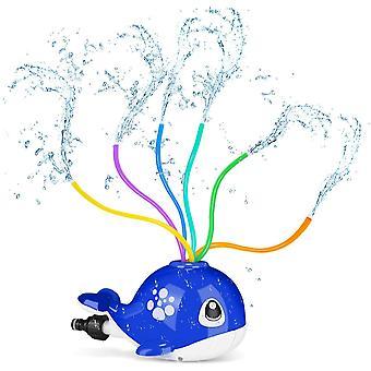 Rociador de agua en aerosol para niños, Spinning Whale Water Sprinklers Toy