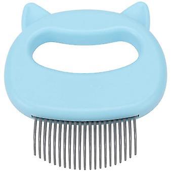 Cat Comb Massager Pet Hair Removal Massaging Shell Comb Massage Tool