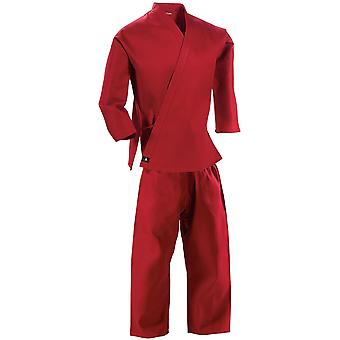 Century 7 oz. Middleweight Student Uniform with Elastic Pant - Red