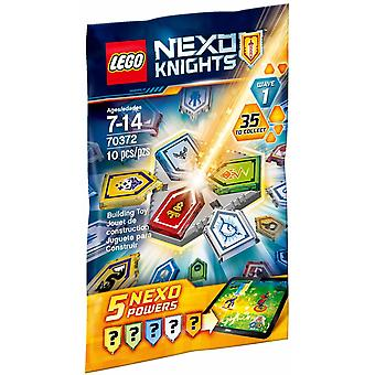 LEGO 70372 NEXO KNIGHTS combo NEXO Powers Wave