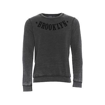 TM Burnout Brooklyn Printed Sweatshirt