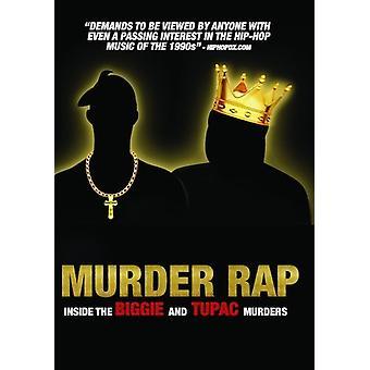 Murder Rap: Inside the Biggie & Tupac Murders [DVD] USA import