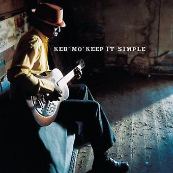 KEB Mo'-holde det simpelt [CD] USA import
