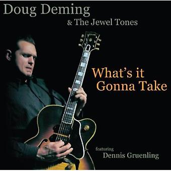 Doug Deming & the Jewel Tones - What's It Gonna Take [CD] USA import