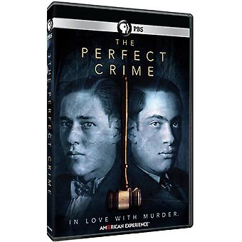 American Experience: The Perfect Crime [DVD] USA import