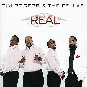Tim Rogers & the Fellas - Real [CD] USA import