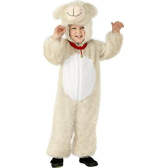 Lammkostüm KINDER Lamm Schaf Kostüm