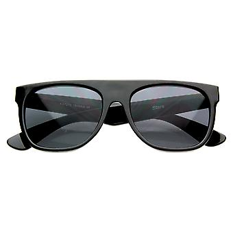 Modernen Retro-Flat-Top Style Pilotenbrille Super Wohnung saubere Schattierungen