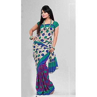 Amritana Bollywood Georgette Designer partito indossare Sari saree