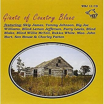 Olika Artist - jättarna i Country Blues [CD] USA import