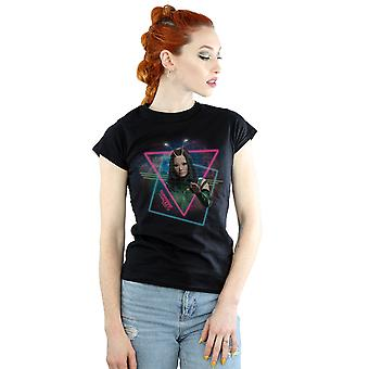 Marvel Women's Guardians Of The Galaxy Neon Mantis T-Shirt