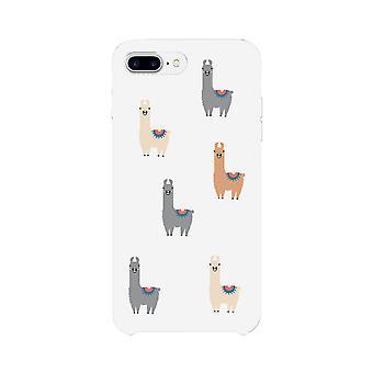 ラマのパターンの携帯電話ケース スリム フィット保護電話カバー プレゼント