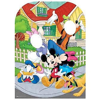 Mickey Mouse and Friends Child Size Stand-in Cardboard Cutout / Standee / Standup