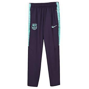 2018-2019 Барселона Nike Обучение брюки (фиолетовый) - дети