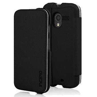 5 pack - Incipio Watson plånbok fallet för Motorola Moto X (1st gen) - svart