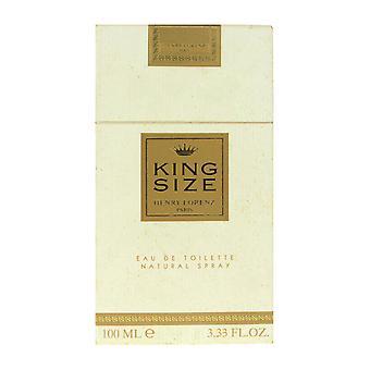 Henry Lorenz King Size Eau De Toilette Spray 3.3Oz/100ml In Box