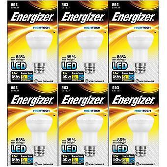 6 X Energizer Hightech leidde R63 Reflector lamp 9.5w = 50W [energieklasse A +]