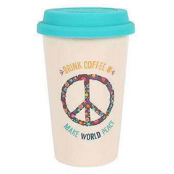 Something Different World Peace Thermal Travel Mug