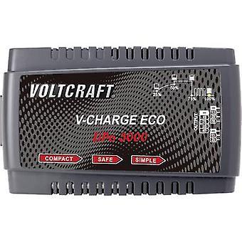 VOLTCRAFT V-Charge Eco LiPo 3000 مقياس نموذج شاحن البطارية 230 V 3 A LiPolymer