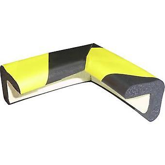 VISO PU30NJ Protective foam black, yellow (L x W) 30 mm x 30 mm
