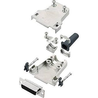 encitech DTZF15-HDS26-K 6355-0063-12 D-SUB opvangbakje set 180 ° aantal pinnen: 26 soldeer emmer 1 set
